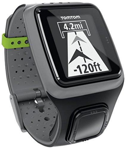 TomTom Orologio GPS Multi-Sport con Fascia Cardio, Grigio Scuro