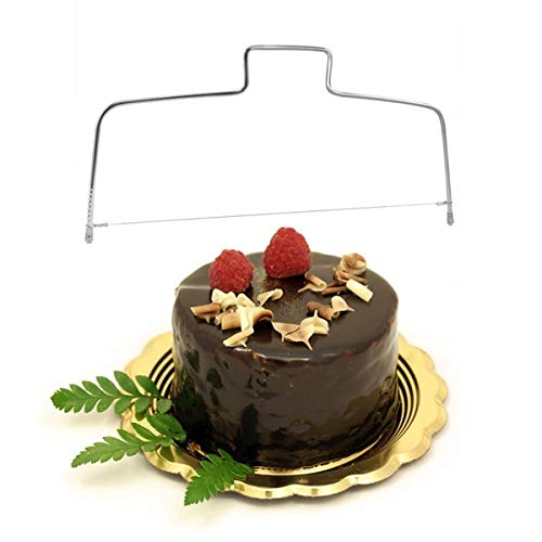 Zoomy far Gâteau Pro Slr Cutter & amp; Leing fil rÃglable Lame de scie anniversaire L