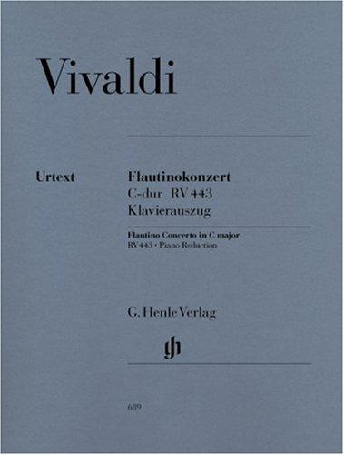 Concerto pour Flautino (Flûte a Bec/Flûte Traversiere) en Ut Majeur Op. 44 N  11 Rv 443
