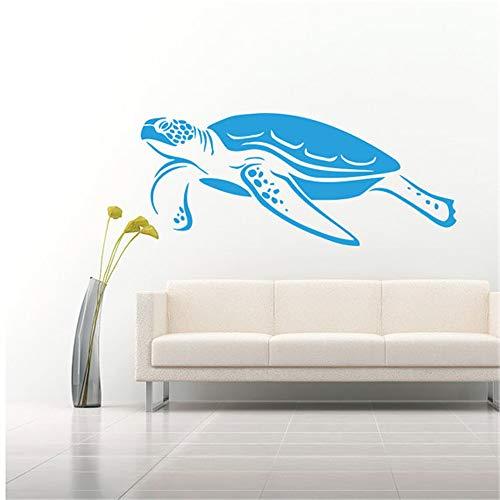 Schwimmen Schildkröte Meerestiere Wasser Schildkröte Schildpatt Mode Stil Wandaufkleber Schlafzimmer Wohnzimmer Kunst Decor 30 * 71 cm