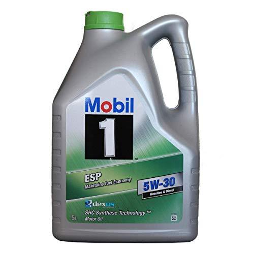 Mobil 1 ESP 5W30 151060 Motorenöl Synthetic, (SHC Synthese Technology) 5L