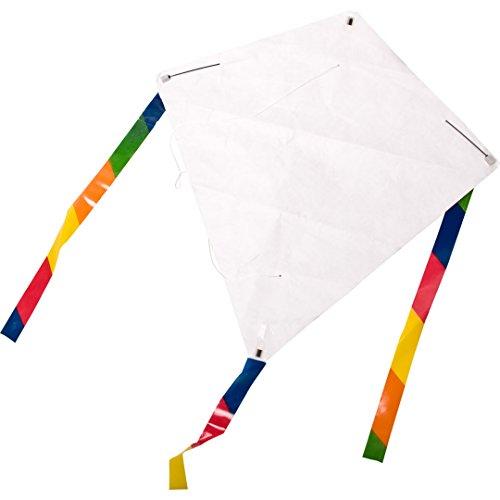 Aquilone eddy kid's creation hq-invento monofilo da colorare e da costruire.