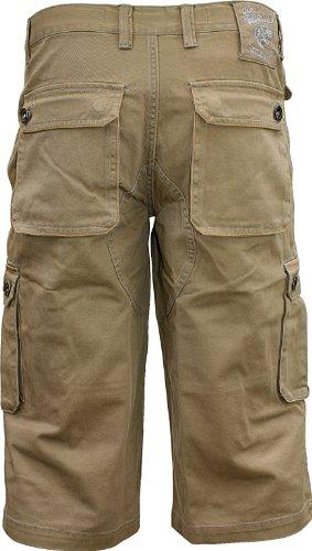 Joe browns cargoshorts longue 3/4 pantalon/camel Beige - Camel