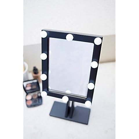 espejo de maquillaje con luces hollywood iluminado espejo espejo de tocador espejo espejo espejo de bao