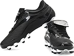 Nivia Men Weapon Black Football Shoes - 10 UK
