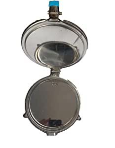 "Kitchenware Stainless Steel Puri Press/Papad Maker/ Chapati Press (6.5"" Diameter)"