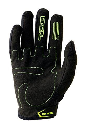 O'Neal Element Kinder Handschuhe MX MTB DH Motocross Enduro Offroad Quad BMX FR, Hi-Viz/Schwarz, Gr. L/6
