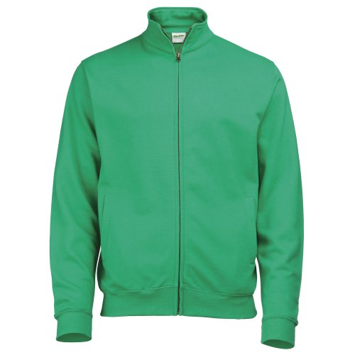 Just Hoods by AWDis Fresher Full Zip, Sweat-Shirt Femme Vert - Kelly Green