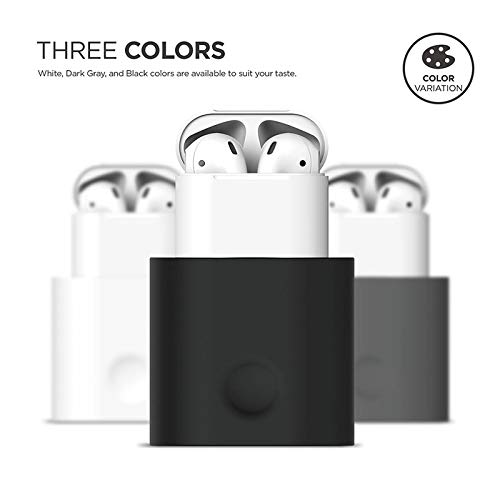 Adeeing Charger for AirPods Earphone Headset Charging Dock Station Soft Silicone Desk Charging Base Stand Holder for Air Pods Image 2