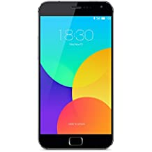 "Meizu MX4 PRO - Smartphone 4G de 5.5"" (2560 x 1536 píxeles, IPS, 2 GHz, Samsung Exynos, 5 Octa 5430, 16 GB), color gris"