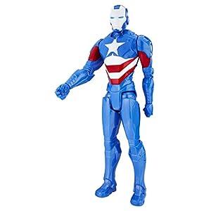 Avengers Marvel Figura Titan Iron Patriot (Hasbro C1493ES0)