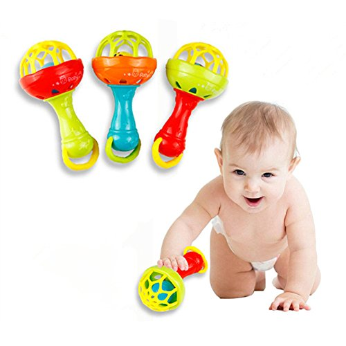 ZZM 1pc Baby Teether Rattles Toy...