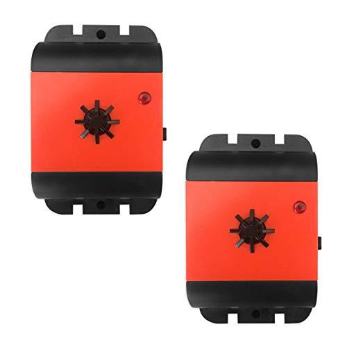 ISOTRONIC Marderscheuche Marderfix Batterie Marderabwehr Marder-Frei Mobil Mäuseschreck Auto KFZ Dachboden Keller Marderfrei Marderschutz mit Ultraschall Akustik (2)