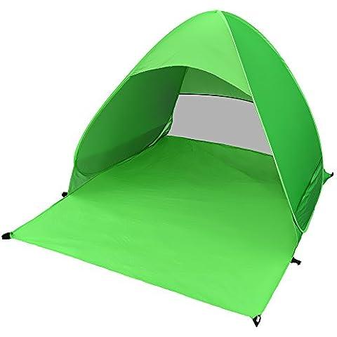 Involucro Tenda, Myguru automatico Pop Up Instant portatile all' aperto Cabana tenda da spiaggia Shelter, Parasole Sport Shelter ombrellone da spiaggia, per campeggio, verde