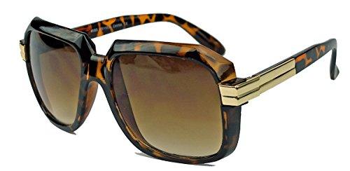 Old School Sonnenbrille HipHop Celebrity 70er 80er Jahre oversized Retro Kassengestell Hornbrille...