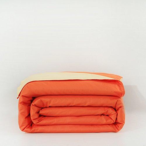 Cotone tinta unita copripiumino/ copripiumino matrimoniale semplice/ confortevole e traspirante copripiumino-P 200x230cm(79x91inch)