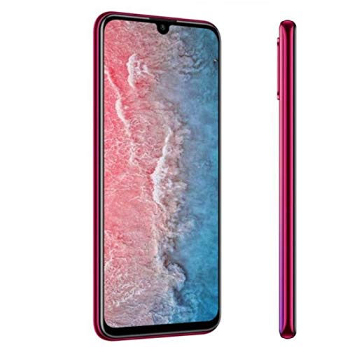 TEENO 4G 6 Pouces Smartphone Portable Débloqué HD écran 3Go RAM 32Go ROM (Android - Double SIM - Une Caméra - Quad Core) (Rouge)