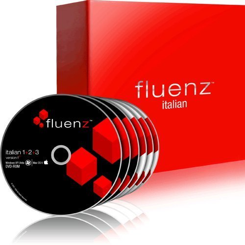 Fluenz Italian 1+2+3+4+5 with supplemental Audio CDs and Podcasts