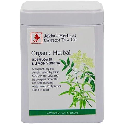Canton Tea - Tè biologico alla citronella e ai petali