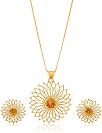 Senco Gold 22k Yellow Gold Jewellery Set - B016K33D2M
