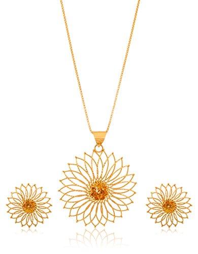 Senco Gold 22k Yellow Gold Jewellery Set - B016K33D2M