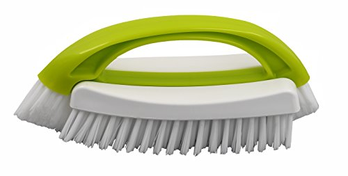2 in 1 Mehrzweck Abnehmbare Scrub Brush - by home-x (Scrubbing Bubbles Wc)