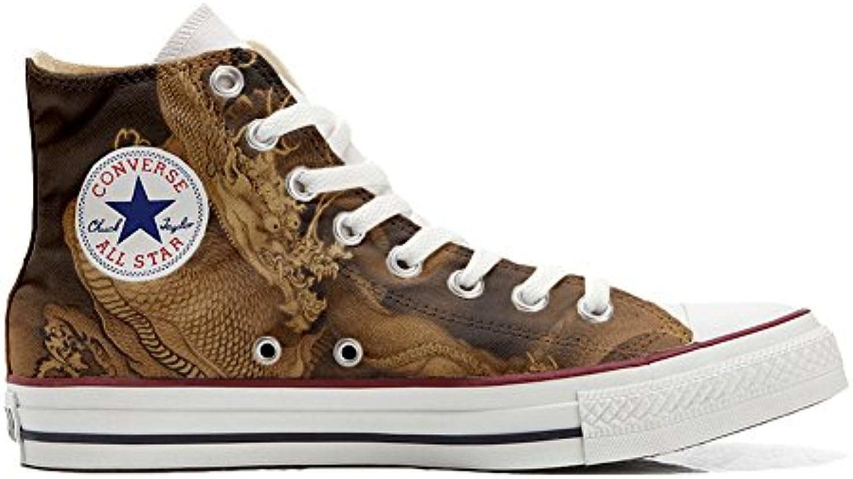 Converse Custom   personalisierte Schuhe (Handwerk Produkt) mit dragoner