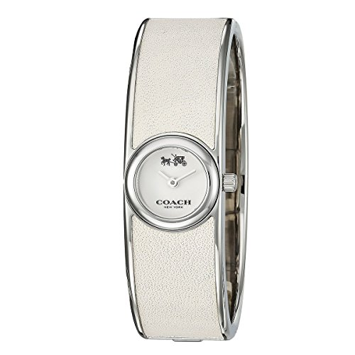 Silver Dial Women's Analog Fashion Quartz Coach Watch Scout 14502740