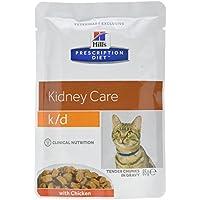 Hill's C-54594 Diet Feline K/D Sobre - 12 x 85 gr