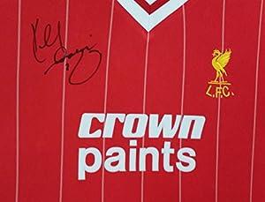 Signed Kenny Dalglish Signed Shirt * AFTAL DEALER Certificate * by www.SignedMemorabiliaShop.co.uk