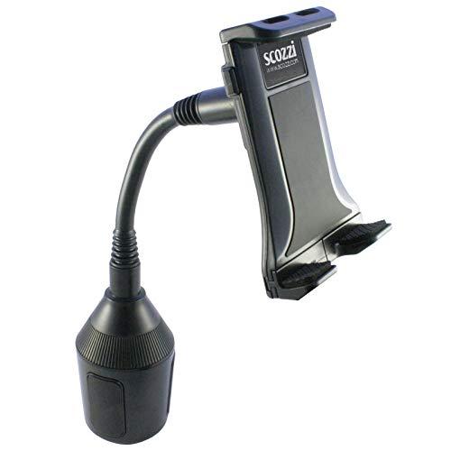 scozzi 360° universal KFZ Handy & Tablet Halterung Getränkehalter Dosenhalter Auto Smartphone Navi Getränke Dosen PKW LKW Halter (Cup 3 - Mod 2)