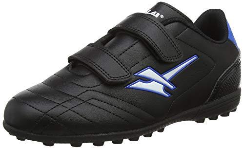 Gola Gola Magnaz Vx Twin Bar, Jungen Fußballschuhe, Schwarz (Black/Blue Blue), 37 EU (4 UK)