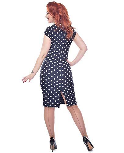 Up Pin 50er Kostüm 40er - Schompi Strumpfhose - Jive Seamed Tights Dark Nude, Größe:Einheitsgröße