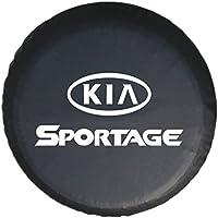 Cubierta del neumático de la rueda de repuesto de Sanlitock para KIA Sportage 15inch Tamaño M (70-75cm) con insignia