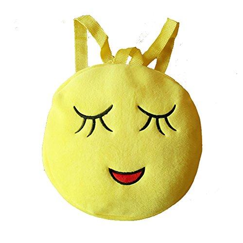Imagen de esailq bolsos  de emoticon emoji lindo mini para adolescentes mujer niñas estudiantes f