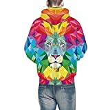 Pullover Herren Lässige Herbst Winter Kapuzenpullover 3D Printing Streetwear Langarm Caps Sweatshirt Top Bluse SANFASHION