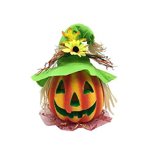 Lomas Kürbis Deko-Objekt Herbst Halloween Keramik Orange