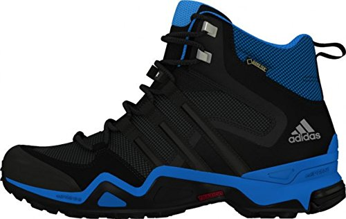 adidas Herren Fast X High GTX Trekking-& Wanderhalbschuhe, Schwarz dark grey/core black/vista grey s15