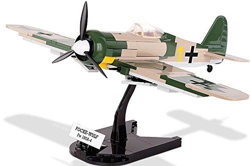 Modbrix 5514 – ✠ Bausteine Focke Wulf FW-190 A-4 Flugzeug inkl. Luftwaffen Pilot aus original Lego® Teilen ✠ - 3