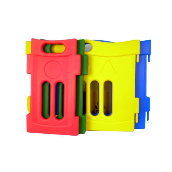 Jolly Kidz Toys Versatile Playpen Extension Liberty House Toys Ideal solution for creating a safe, controlled environment for younger children to play Bright and colourful, extendable and portable, tough and durable Suitable for children up to 5 yrs old 1