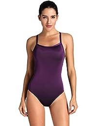 b4f260fcd1203 SYROKAN Damen Sports One Piece Badeanzug Trainings Profi Einteiler Bademode