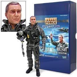 Elite Force Aviator: George W. Bush - U.S. President and Naval Aviator - 12 Action Figure (Us Naval Aviator)