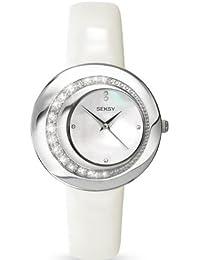 Seksy 4487–Women's Wrist Watch, Leather Strap