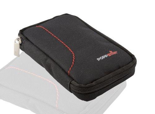 Poppstar Tasche für externe 6,4 cm (2,5 Zoll) Festplatten, schwarz