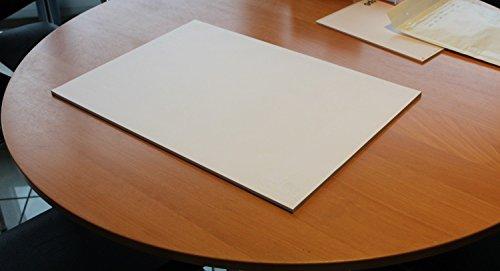 1 Stück Schreibtischunterlage blanko, Schreibtisch, Unterlage, Büro, Schreibblock,...