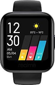"""realme Watch - Smartwatch, pantalla de 1.4"""", mide frecuencia cardíaca PPG y saturación de oxígeno en la s"""