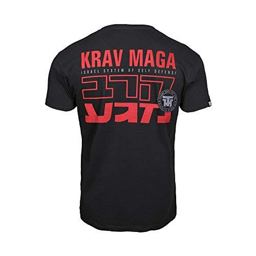 a46896294da82 Thumbs Down Krav MAGA T-Shirt. Israel System of Self Defense. MMA. Gym.  Training. Martial Arts. Casual (Size Small) Black