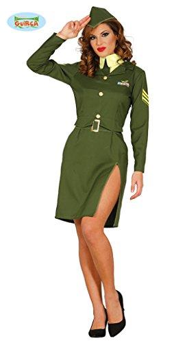 Costume donna soldato militare sexy taglia M