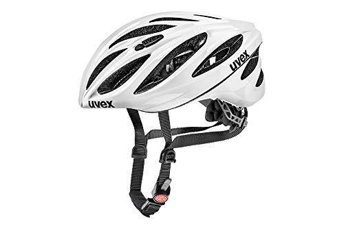 Uvex Boss Race Fahrradhelm white 52-56 cm