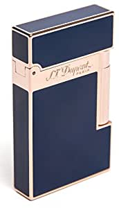 S.T. Dupont Ligne 2 Pink Gold & Blue Chinese Lacquer Lighter